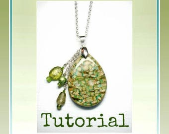 Polymer Clay Mica Shift Tutorial- Mica Shift Pendants- Polymer Clay Jewelry- Beginner Polymer Clay Tutorial DIY Crafts