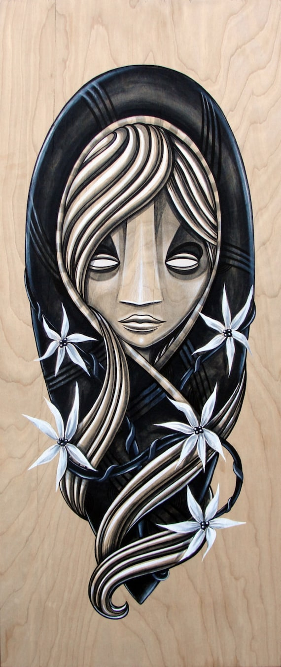 The Divine Oracle - Original Painting on wood
