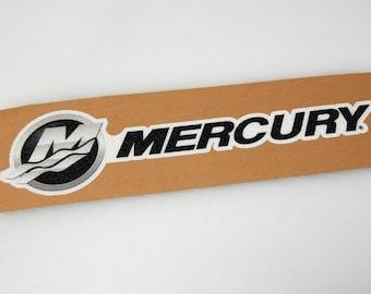Mercury - Bass Boat Carpet Graphic - Decal Logo