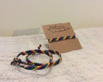 friendship bracelet LGTB pride bracelet friendship