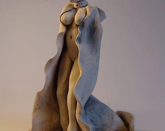 The Morrigan figurine
