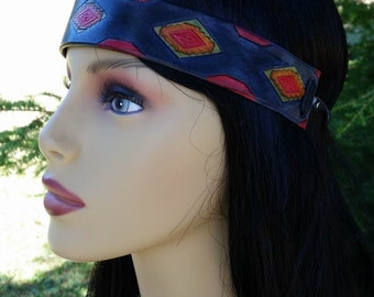 leather head band