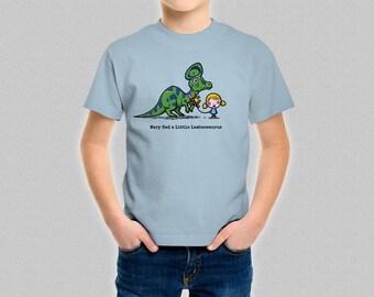 Mary Had a Little Lambeosaurus Kids T-Shirt - Children's Funny Dinosaur T-Shirt - Boys Girls Dinosaurs Clothing Top Shirt