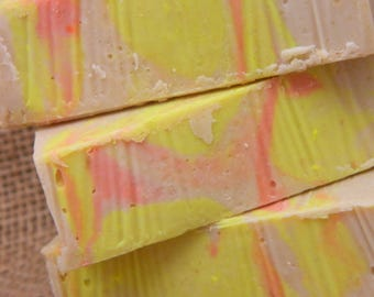 Mango and Papaya Goats Milk Soap