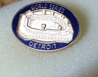 1984 World Series Press Pin