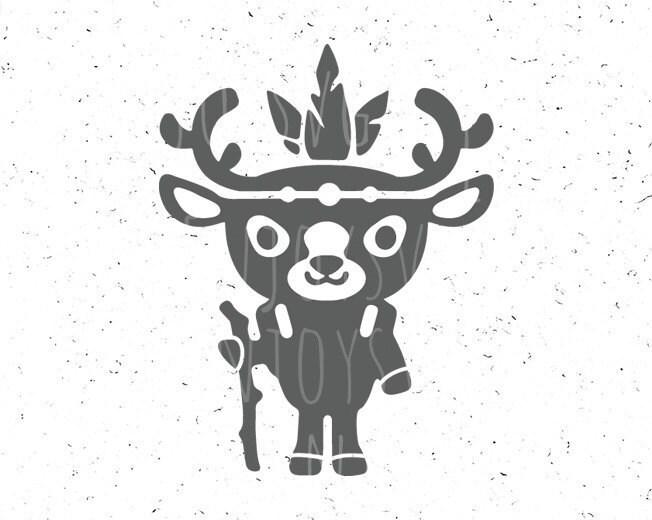 Baby Deer svg Deer svg file Little Deer svg Wild svg Wild svg
