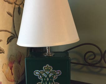 William and Mary Glitter Lamp