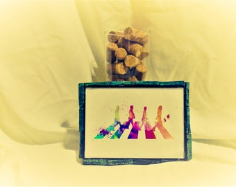 5 x 7 Dyed Cork Frame (Print not included)
