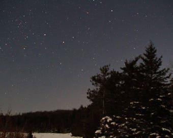 Cold stary night