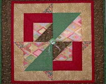 Deco Squares Art Quilt