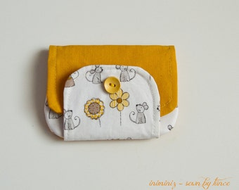 Kids wallet, wallet for kids, small pouch