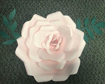 Large Pink Paper Flower