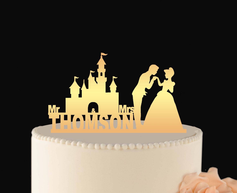DISNEY cake Decoration Disney Wedding Cake Topper Cinderella