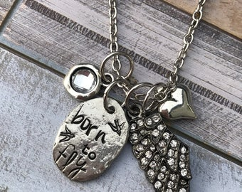 Born to Fly Necklace