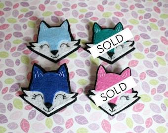 Fox Brooch / Pin