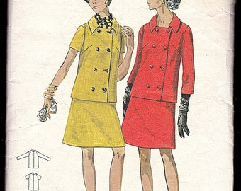 Butterick 5189 Size 14 and a Half, Bust 37, Women's and Half Size Suit