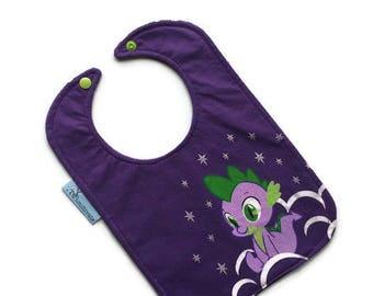 My Little Pony Baby Bib • Baby Shower Gift • Upcycled Tshirt Bib •