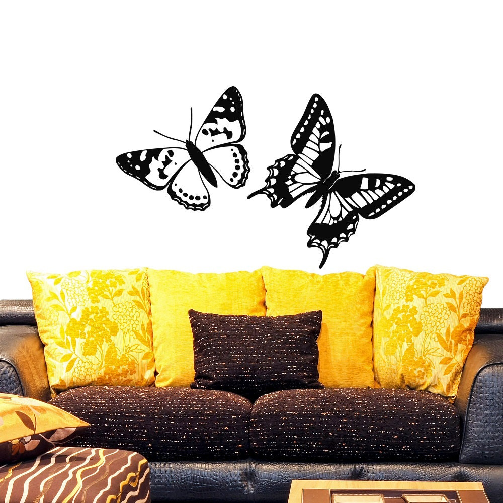 Wall Vinyl Decals Beautiful Butterfly Kids Nursery Room Decal