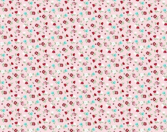 ON SALE Riley Blake Designs A Little Sweetness By Tasha Noel Floral Pink