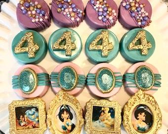 Jasmine Chocolate Covered Oreos, Princess