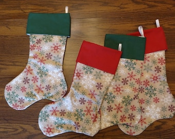 Christmas Stocking- set of 4