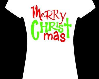 Merry CHRIST mas shirt