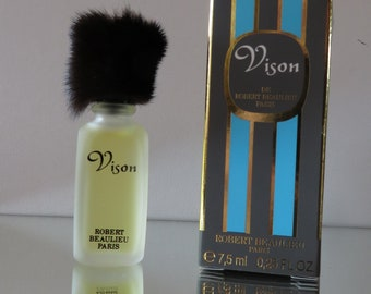 Vison by Robert Beaulieu - FULL - Miniature perfume bottle - Eau de Toilette Parfum-