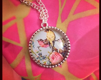 Bird in Paradise Necklace
