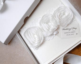 LUXURY Wedding Card // PERSONALISED Wedding Card // Gift Boxed Card // Handmade Card // Engagement Card // Anniversary