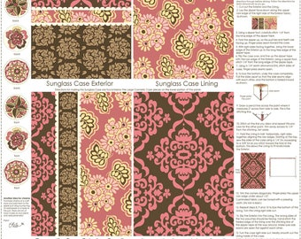Craft Project, Brown Accessory Panel, Fiona's Fancy by Lila Tueller for Riley Blake Designs, C2677