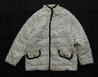 Vintage versus versace down jacket made in italy good condition