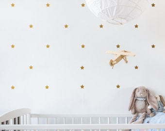 Mini Stars   Removable Wall Decal & Sticker for Home, Office, Nursery