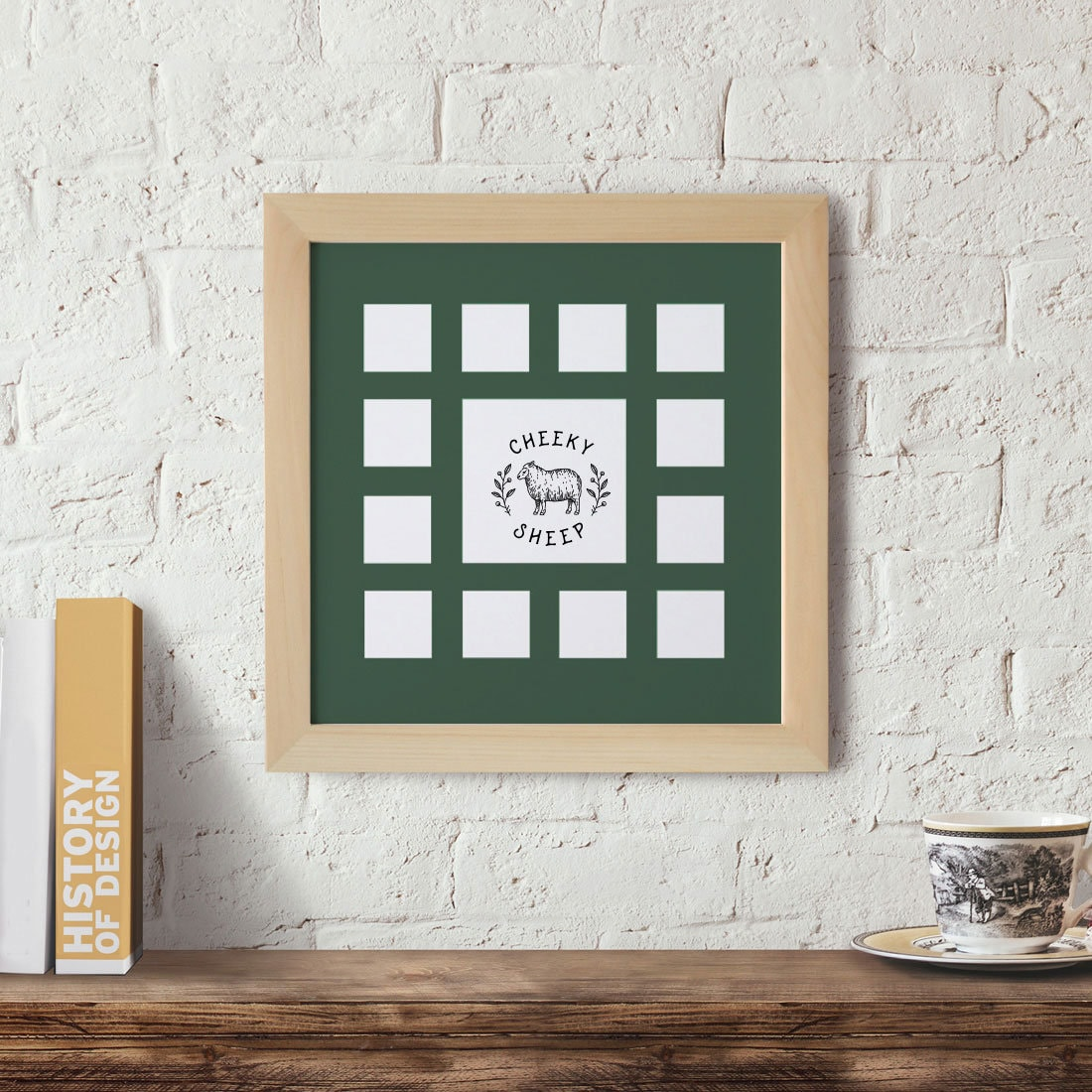 12x12 Wood Frame School Year Frame Baby S First Year Frame