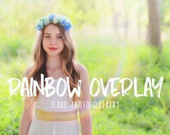 photo overlay photoshop overlays Rainbow flare overlay sun lens flare sunlight overlays light leaks photo overlays for Photoshop