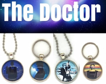 Doctor Who Jewelry - Doctor Who - Accessories - Matt Smith - David Tenant - Peter Capaldi - Jodie Whittaker