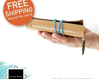 Hand-bound notebook - Light Brown