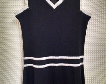 Vintage Roncelli  Black Maxi Dress