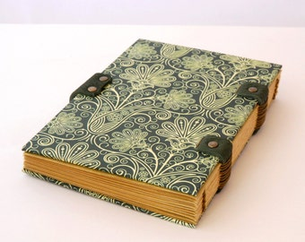 Notebook makeover, personalized, Coptic binding, travel journal, notebook, journal, travel journal