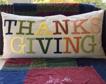 Custom Pillow Cover Fall Pillow Decorative Pillows Thanksgiving Pillow Case Gift for Her Pumpkin Pillow Colorful Pillow Autumn Decor