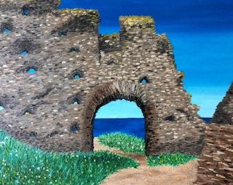 King Arthurs Castle Oil Painting