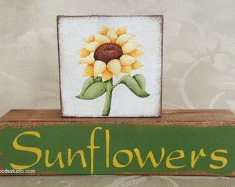 Sunflower Block Stack (SPG149)