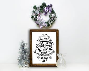 Christmas Sign, Christmas Decoration, Christmas Gift, Modern Farmhouse, Christmas Kitchen Decor, Holiday Decor, Wood Christmas Sign, Wood