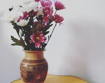 Vintage Clay Vase