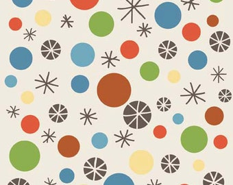 Scoot - Dots on Cream by Deena Rutter for Riley Blake Designs