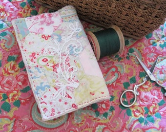 Heirloom Hand Stitched Needle Case