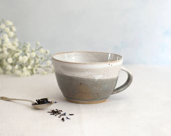 Dinky Cup - Misty Morning // Tea cup // Coffee Cup // For Her // For Him // Hand-Thrown