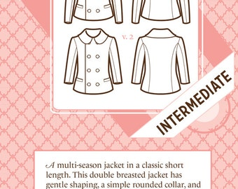 Anise Coat Pattern No. 1023 by Colette Patterns