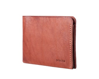 Leather Wallet   Bifold Wallet   PROSTO Handmade