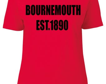 Bournemouth Women's Fitted T-Shirt