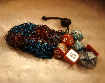 Ravenclaw Chainmail Dice Bag